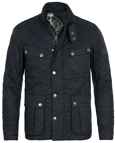 Barbour International Ariel Quilted Jacket Navy ryhmässä Vaatteet / Takit / Tikkitakit @ Care of Carl (10349311r)