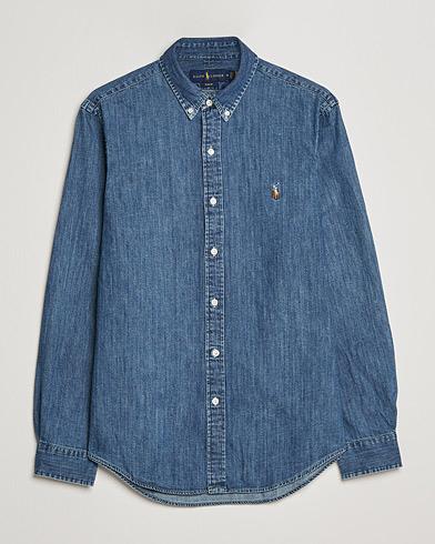 Polo Ralph Lauren Slim Fit Shirt Denim Dark Wash