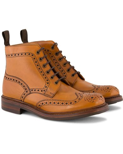 Loake 1880 Bedale Boot Tan Burnished Calf ryhmässä Kengät / Nilkkurit @ Care of Carl (10995711r)