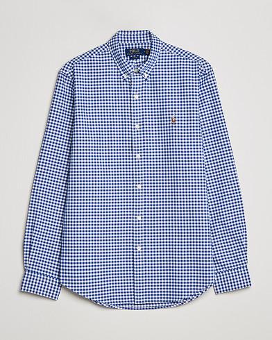 Polo Ralph Lauren Slim Fit Shirt Oxford Blue/White Gingham