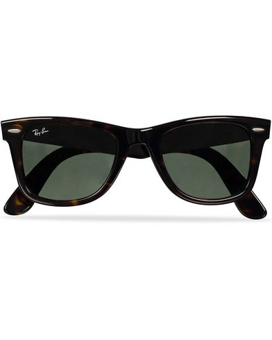 Ray-Ban Original Wayfarer Sunglasses Tortoise/Crystal Green