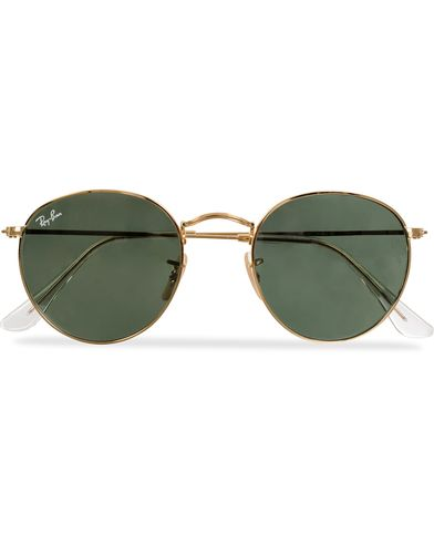 Ray-Ban RB3447 Metal Sunglasses Arista/Crystal Green