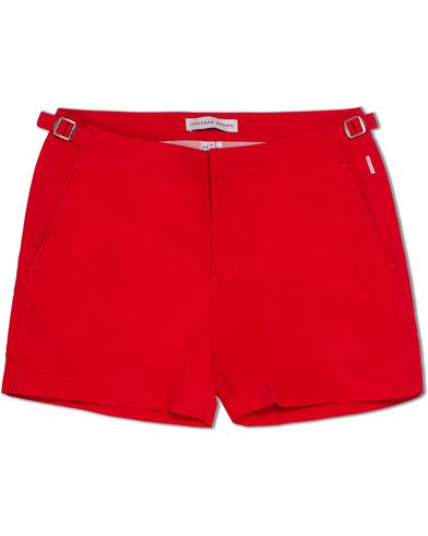 Orlebar Brown Setter Short Length Swim Shorts Rescue Red ryhmässä Vaatteet / Uimahousut @ Care of Carl (12282511r)