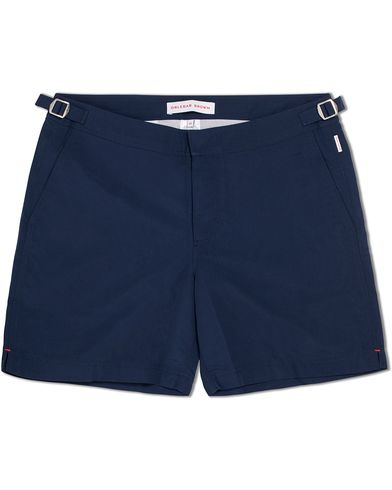 Orlebar Brown Bulldog Medium Length Swim Shorts Navy ryhmässä Vaatteet / Uimahousut @ Care of Carl (12282611r)