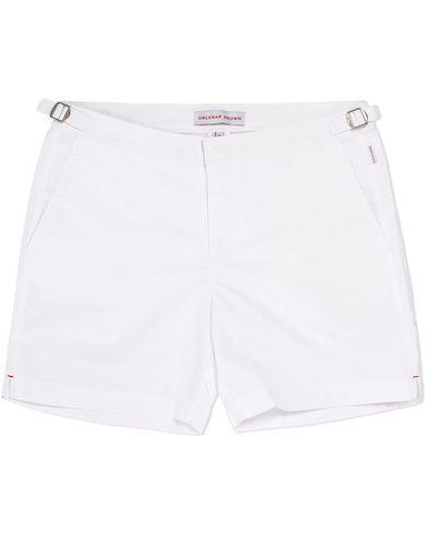 Orlebar Brown Bulldog Medium Length Swim Shorts White