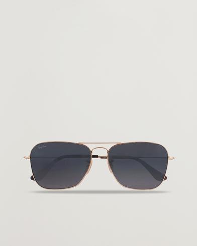 Ray-Ban 0RB3136 Caravan Sunglasses Gold/Grey