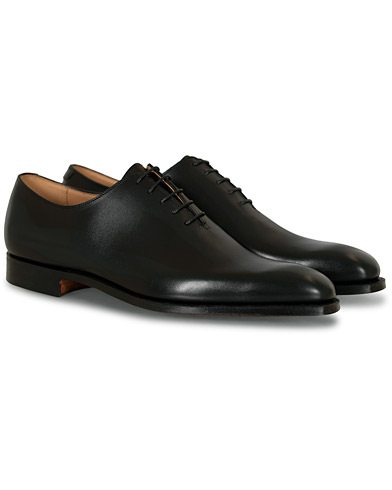 Crockett & Jones Alex Wholecut Oxford Black Calf ryhmässä Kengät / Oxford-kengät @ Care of Carl (12681311r)