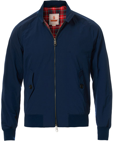 Baracuta G9 Original Harrington Jacket Navy ryhmässä Vaatteet / Takit / Ohuet takit @ Care of Carl (13664111r)