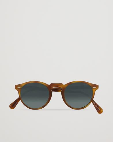 Oliver Peoples Gregory Peck Sunglasses Semi Matte/Indigo Photochromic