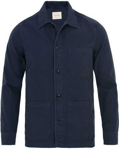 A Day's March Overshirt Navy ryhmässä Vaatteet / Takit / Ohuet takit @ Care of Carl (13825911r)