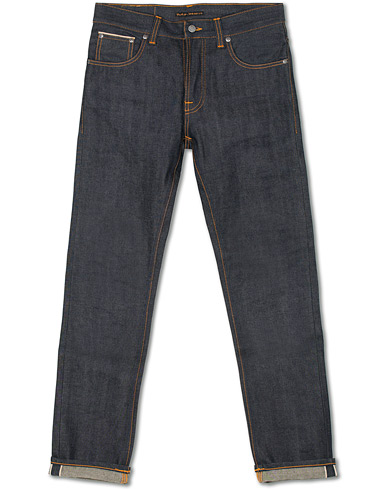 Nudie Jeans Grim Tim Organic Slim Fit Jeans Dry Selvedge