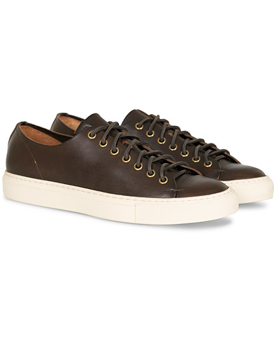 Buttero Calf Sneaker Dark Brown