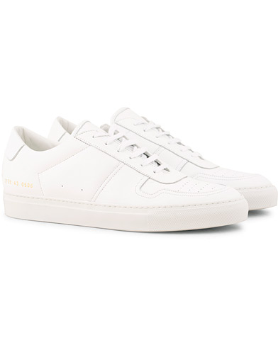 Common Projects B Ball Sneakers White Calf ryhmässä Kengät / Tennarit / Matalavartiset tennarit @ Care of Carl (15251411r)