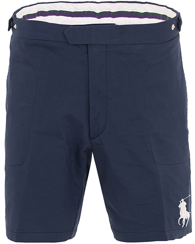 Polo Ralph Lauren Wimbledon Collection Ballboy Shorts French Navy ryhmässä Vaatteet / Shortsit / Rennot shortsit @ Care of Carl (15578211r)