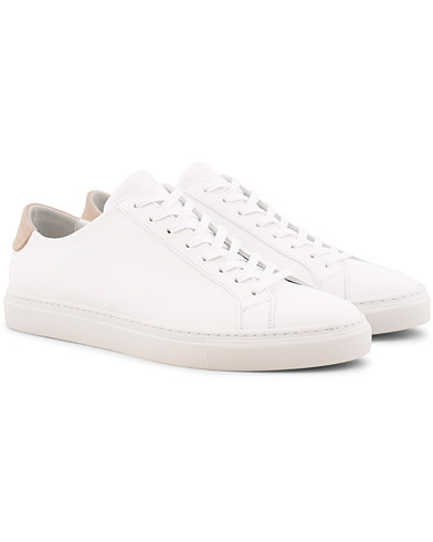 Filippa K Morgan Low Mix Sneakers White ryhmässä Kengät / Tennarit @ Care of Carl (15702011r)