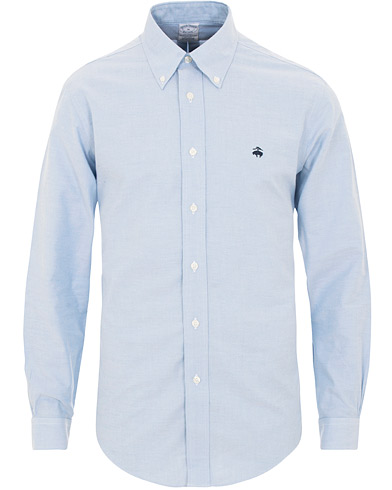 Brooks Brothers Regent Fit Non Iron Oxford Button Down Shirt Light Blue