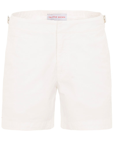 Orlebar Brown Bulldog Cotton Twill Shorts White