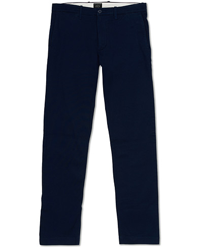 J.Crew 484 Slim Fit Stretch Cotton Twill Chinos Navy ryhmässä Vaatteet / Housut / Chinot @ Care of Carl (15855111r)