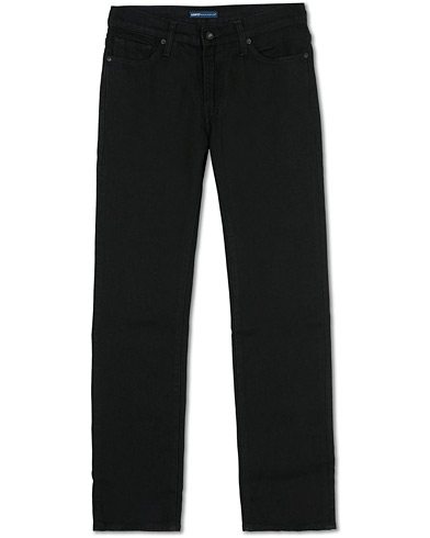 Levi's Made & Crafted 511 Slim Fit Stretch Black Rinse Jeans Black ryhmässä Vaatteet / Farkut @ Care of Carl (16045611r)