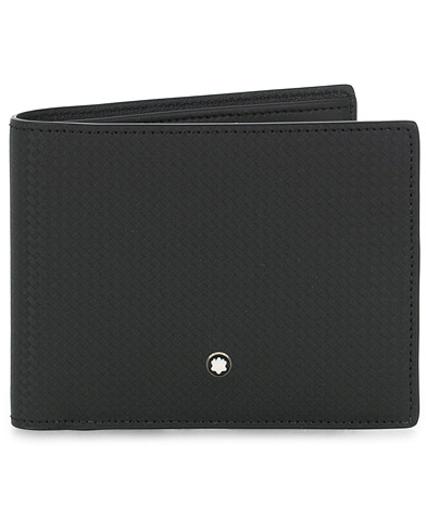Montblanc Extreme 2.0 Wallet 6cc Carbon Leather Black  ryhmässä Asusteet / Lompakot @ Care of Carl (16058910)