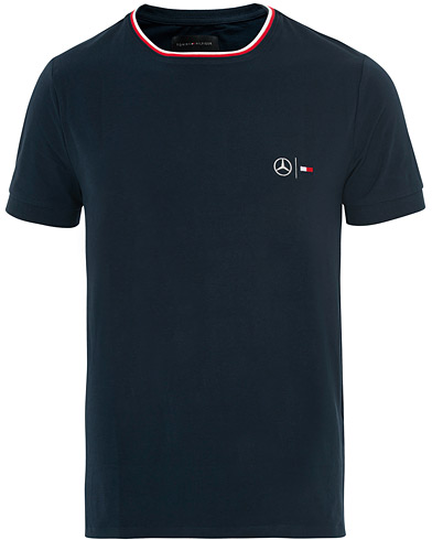 Tommy Hilfiger Mercedes Benz Climate Control Tee Sky Captain ryhmässä Vaatteet / T-paidat / Lyhythihaiset t-paidat @ Care of Carl (16434911r)