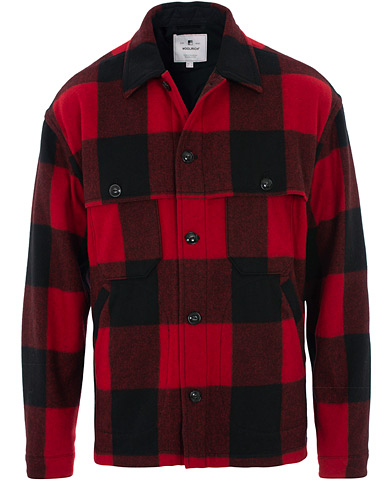Woolrich Buffalo Check Jacket Red/Black