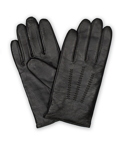 BOSS Hainz Leather Glove Brown ryhmässä Asusteet / Käsineet @ Care of Carl (16523511r)