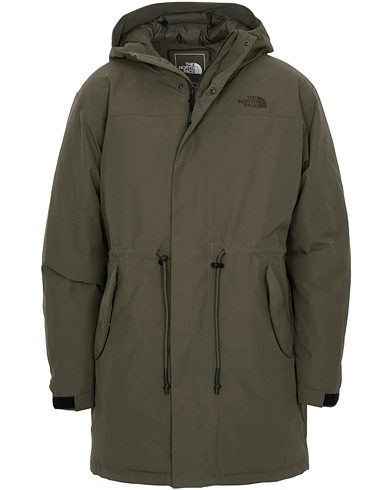 The North Face Premium City Wp Down Parka New Taupe Green ryhmässä Vaatteet / Takit / Parkatakit @ Care of Carl (16551811r)
