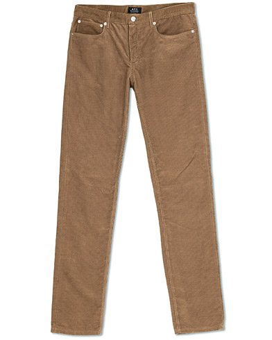 A.P.C. 5-Pocket Pants Beige