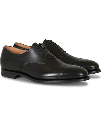 Crockett & Jones Connaught 2 City Sole Black Calf ryhmässä Kengät / Oxford-kengät @ Care of Carl (16600211r)