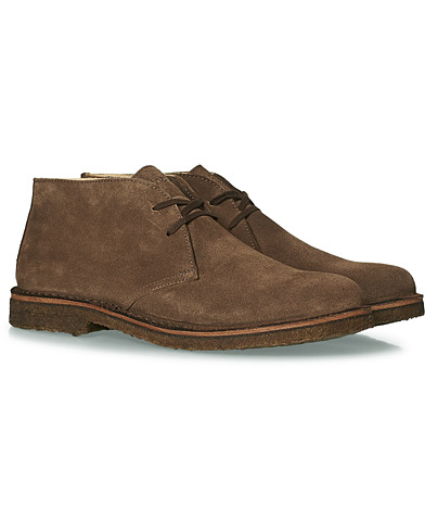 Astorflex Greenflex Desert Boot Brown Suede ryhmässä Kengät / Nilkkurit @ Care of Carl (16643111r)