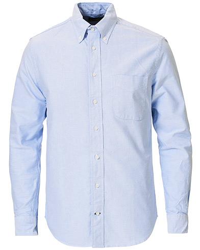 Gitman Vintage Button Down Oxford Shirt Light Blue
