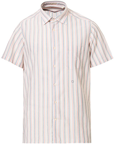 Massimo Alba Malibu Short Sleeve Shirt Mandarino