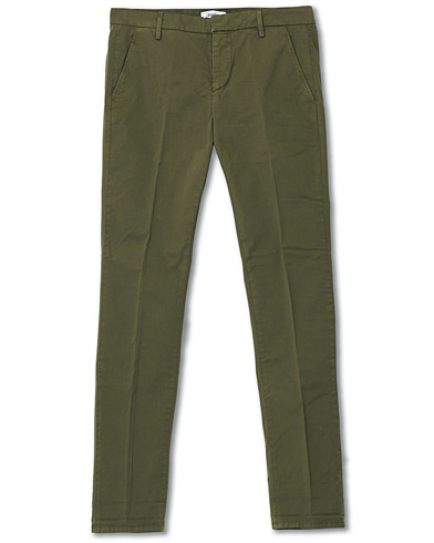 Dondup Gaubert Cotton Chinos Military ryhmässä Vaatteet / Housut / Chinot @ Care of Carl (16751711r)