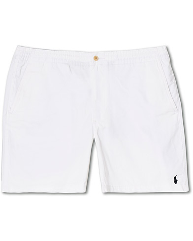 Polo Ralph Lauren Prepster Shorts White ryhmässä Vaatteet / Shortsit / Chino-shortsit @ Care of Carl (16757611r)