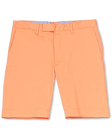 Polo Ralph Lauren Tailored Slim Fit Shorts Maltese Orange ryhmässä Vaatteet / Shortsit / Chino-shortsit @ Care of Carl (16758211r)
