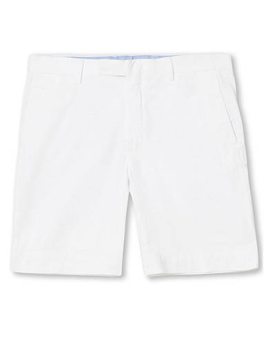 Polo Ralph Lauren Tailored Slim Fit Shorts White