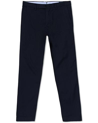 Polo Ralph Lauren Tailored Slim Fit Chinos Aviator Navy ryhmässä Vaatteet / Housut / Chinot @ Care of Carl (16776911r)