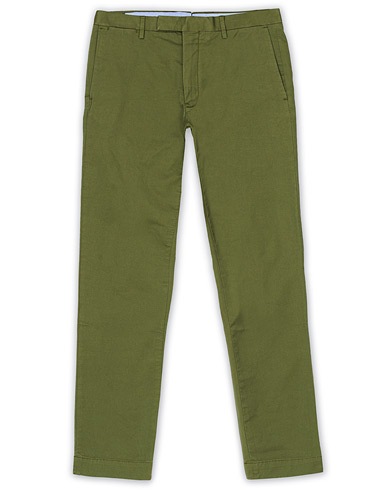 Polo Ralph Lauren Tailored Slim Fit Chinos Army Olive ryhmässä Vaatteet / Housut / Chinot @ Care of Carl (16777911r)