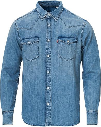 Levi's Barstow Western Denim Shirt Stone