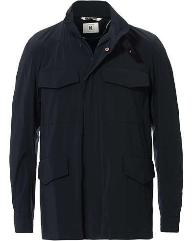 Kired Waterproof Bi-Stretch Fieldjacket Navy ryhmässä Vaatteet / Takit / Kenttätakit @ Care of Carl (16824311r)