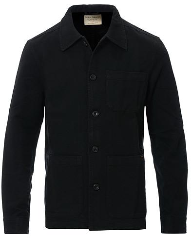 Nudie Jeans Barney Worker Jacket Black