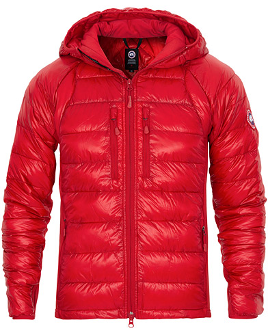 Canada Goose Hybridge Lite Hooded Jacket Red ryhmässä Vaatteet / Takit / Untuvatakit @ Care of Carl (16855311r)