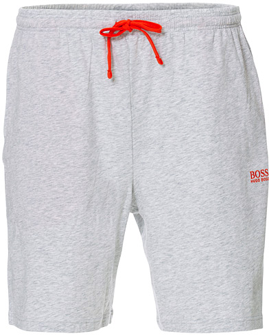 BOSS Loungewear Shorts Light Grey ryhmässä Vaatteet / Shortsit / Rennot shortsit @ Care of Carl (16963311r)
