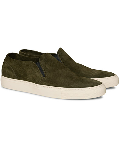 Buttero Suede Slip On Sneaker Green ryhmässä Kengät / Tennarit @ Care of Carl (16972711r)