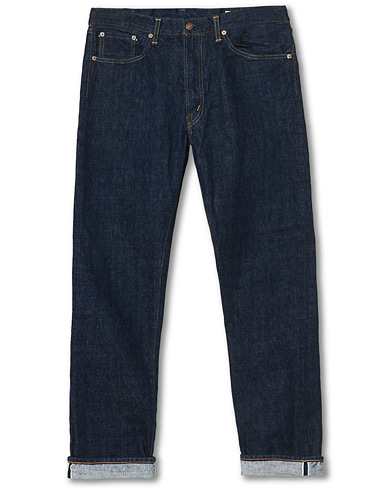 orSlow Tapered Fit 107 Selvedge Jeans One Wash ryhmässä Vaatteet / Farkut @ Care of Carl (16978111r)