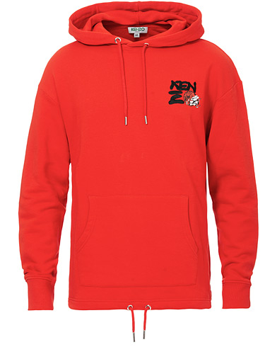 KENZO Chinese New Years Hoodie Red ryhmässä Vaatteet / Puserot / Hupparit @ Care of Carl (17024911r)