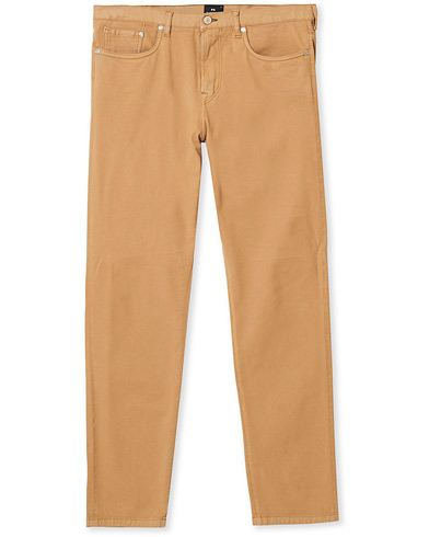PS Paul Smith Tapered Fit 5-pocket Pants Sand ryhmässä Vaatteet / Housut / Viisitaskuhousut @ Care of Carl (17047511r)