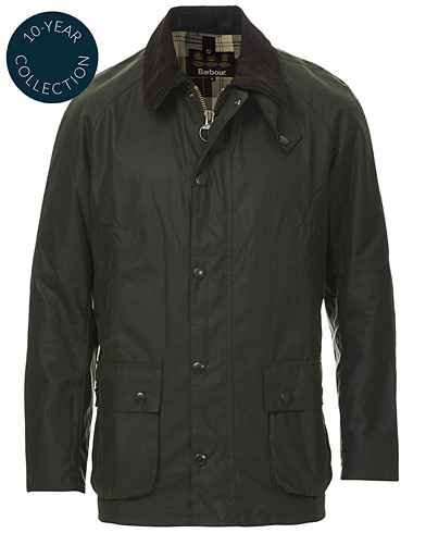 Barbour Lifestyle Ashby Jacket Racing Green ryhmässä Vaatteet / Takit / Vahakankaiset takit @ Care of Carl (19543711r)