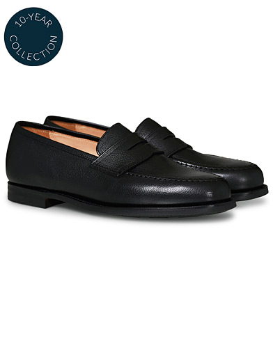Crockett & Jones x Tärnsjö Garveri Boston Scotch Grain City Sole Black Calf